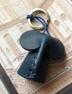 Made in Italy 義大利🇮🇹手工製作皮製鑰匙圈