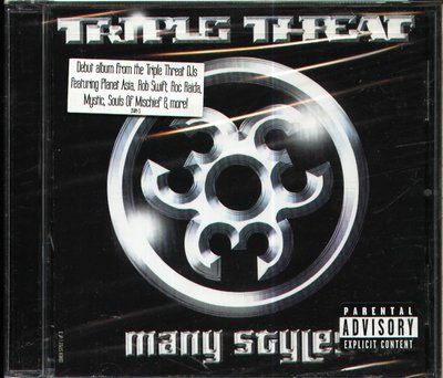 K - Triple Threat - Many Styles - CD - NEW