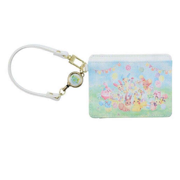 【寶可夢復活節系列票卡包】寶可夢 復活節 卡片收納 伸縮拉線 日本正品 該該貝比日本精品 ☆