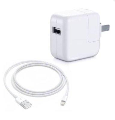 【奈斯】蘋果豆腐頭 2M線+12W頭 iPhoneX 8 7 6S plus 原廠線/傳輸線/充電頭/快充頭/蘋果線