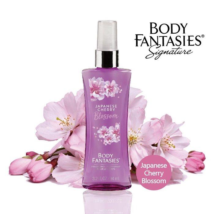 【Body Fantasies身體幻想】日本櫻花 香氛噴霧94ml
