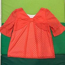 艾莉詩iris girls雪紡上衣 顏色亮橘(全新)M號