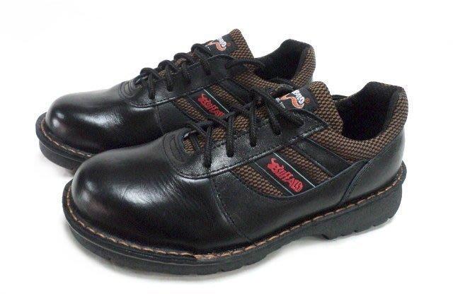 美迪~牛頭牌-型號Y3001C(HP)-工作安全鞋-防釘款~黑款-(檢內登字第63596號)