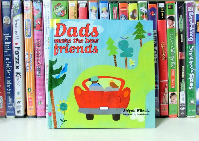 *【兒童英語繪本】*小pen家--Dads make the best friends