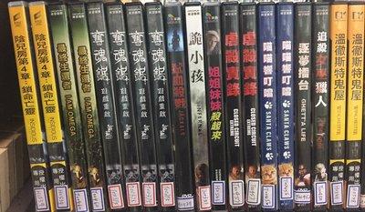 席滿客書坊二手拍賣-正版DVD*恐怖片  【最終生還者】