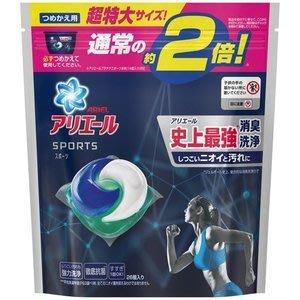 P&G強力消臭3D洗衣球26入