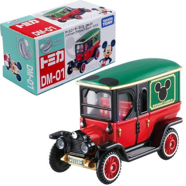 【小不點】TOMICA Disney DM-01 經典米奇車 老爺車 古董車 高帽子古典米奇車-東京車展特別版