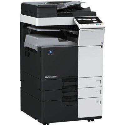 【小智】KONICA BH-C258多功能影印機(A3/影印/傳真/列印/掃瞄/雙面)九成新/25張