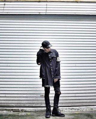 【Result】Ninja Fresh 424 破壞黑牛仔夾克外套