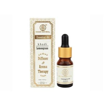 印度 Khadi 檸檬草/檸檬香茅精油 10ml 新包裝 Herbal Lemongrass Essential Oil【V310939】PQ 美妝