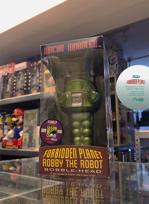 Artlife @ FUNKO SDCC 2010 Forbidden Planet Robby 禁忌星球 羅比機器人
