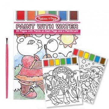 【小糖雜貨舖】美國 Melissa & Doug 兒童水彩繪圖本 附水彩及畫筆 (粉紅)