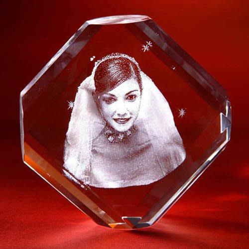 【佳樺創意水晶8舖】水晶內雕含底座客製愛情婚禮小物定情求婚禮物結婚全家福情人節禮物畢業禮物生日禮物水晶客製化水晶