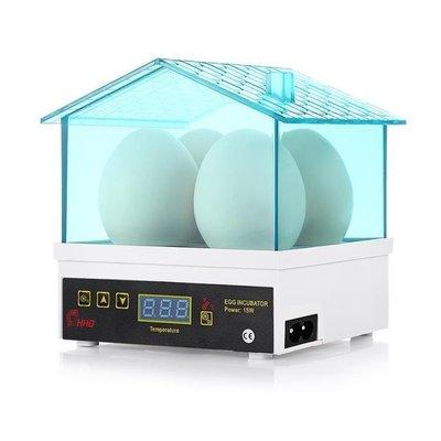 日和生活館 孵化機 4枚孵蛋器雞鴨鵪鶉 HHD孵化器 自動控溫小型家用型迷你 S686