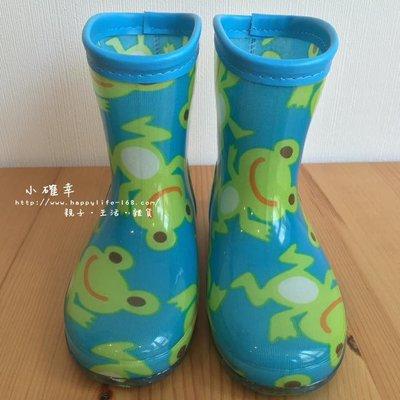 。小森親子好物。17cm日本兒童雨鞋 ...