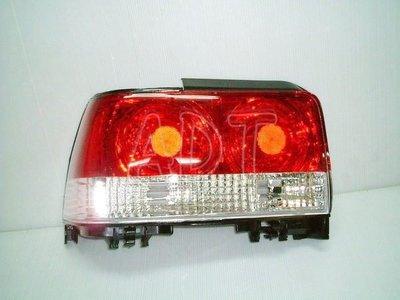 ~~ADT.車燈.車材~~豐田 COROLLA 92~97 紅白晶鑽尾燈含后蓋視板一台份