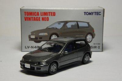 TOMICA TOMYTEC 1/64 LV-N48f HONDA CIVIC SiR-II 本田喜美(K6模型車)