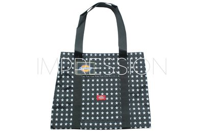 【IMPRESSION】DICKIES 6897-002 DICKIES LUXURY TOTE 黑白星星 肩背 購物袋