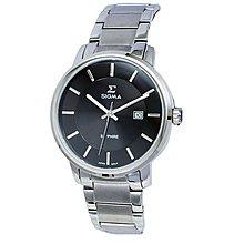 SIGMA 簡約風格 藍寶石水晶鏡面 時尚腕錶 1122M-1