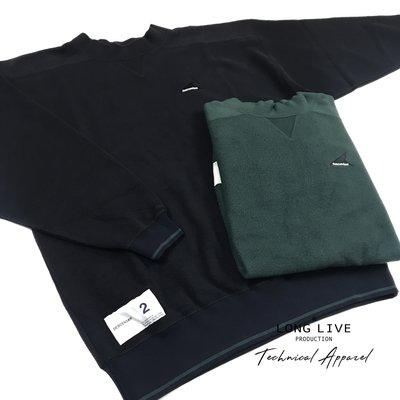 【小囧妹香港正品代購】 DESCENDANT SASSY / MOCK NECK SWEATSHIRT 絨絨衛衣 18SS