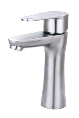 《101衛浴精品》台灣精品 TAP 無鉛 304不鏽鋼面盆龍頭 500023 進口陶瓷閥芯【免運費】