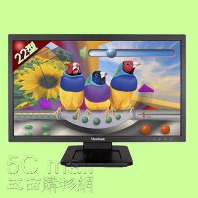 5Cgo【權宇】優派ViewSonic TD2220 22吋兩點光學觸控液晶顯示器螢幕DVI D-SUB USB含稅