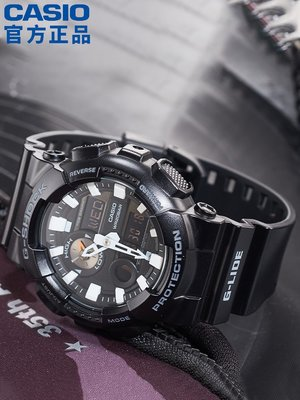 [Snoopy名錶商行]GAX-100B-1A黑武士運動手錶男g shock黑暗之心限量黑金日韓腕錶