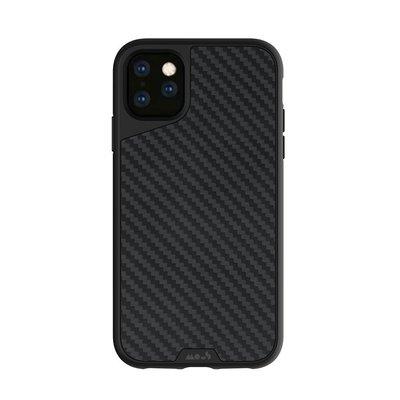 3【原裝正品英國軍規】MOUS 天然材質防摔保護殼 - iPhone 11 PRO MAX  - 碳纖維