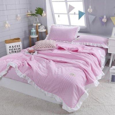 水洗棉夏被單雙人床單夏季薄被夏天夏涼被冷氣被子床上用品