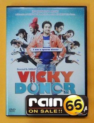 ⊕Rain65⊕正版DVD【精牌大丈夫/Vicky Donor】-阿尤斯曼庫拉納*雅米高譚-(直購價)