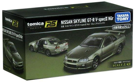 台中**宏富玩具**TOMICA PREMIUM系列 RS 日產GT-R V.specll Nur (sp)