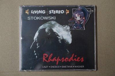 莉娜光碟店 斯托科夫斯基 STOKOWSKI RHAPSODIES 白頭佬狂想曲CD