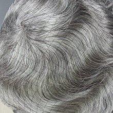 潮爆款 奶奶灰 織髮,假髮