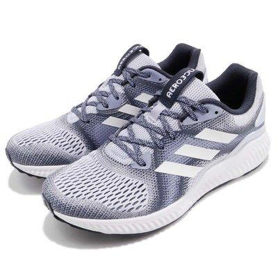 ADIDAS WMNS AEROBOUNCE ST 女鞋 運動鞋 慢跑 白紫 健身房 瑜珈 透氣 CG4584 YTS