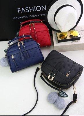 哆啦本鋪 女士包包手提包簡約側背包斜挎小包包流蘇包 東京衣櫃D655