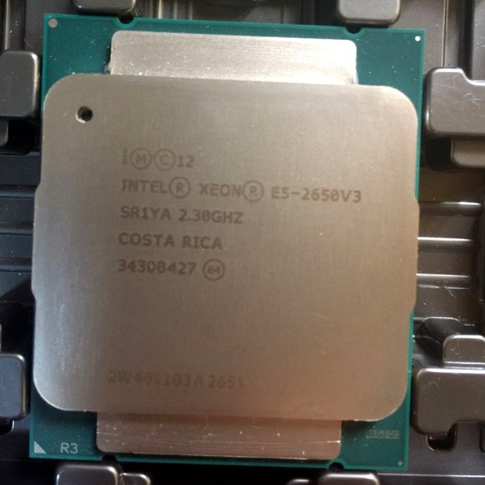 5Cgo【權宇】Intel Xeon E5-2650 V3 10核心20線程 2.3GHz QS正顯版LGA2011含稅