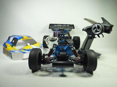 大千遙控模型   COLT-1/10 軸傳4WD 引擎越野 遙控車附2.4G槍控(台灣製)