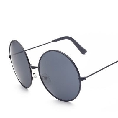 太陽眼鏡 偏光墨鏡-時尚經典圓框造型男眼鏡配件8色73en21[獨家進口][米蘭精品]