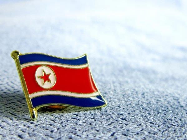 【國旗徽章達人】北韓國旗徽章/勳章/胸章/別針/胸針/朝鮮/North Korea/超過50國可選