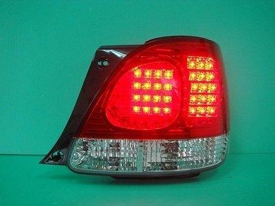 》傑暘國際車身部品《 超炫尊榮版凌志LEXUS-GS300紅白.燻黑LED尾燈-搭配光圈魚眼更優惠
