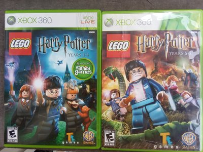 LEGO Harry Potter: Years 1-4 + 5-7 xbox 360 game