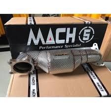 【童夢國際】 MACH5 當派 downpipe CRV5 CRV-5 專用 200目金屬觸媒 隔熱當派