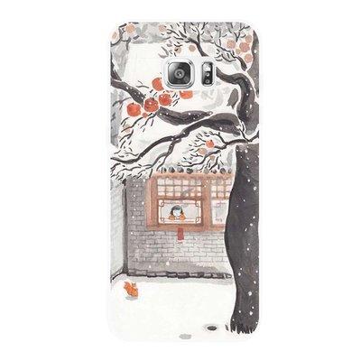 三星手機殼 手機套 現貨 中國風插畫三星 NOTE3457 A5789 C5原創S7 S6edge+手機tpu軟套