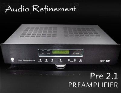 【風尚音響】Audio Refinement   Pre-2 DSP  前級擴大機  ( 展示機 福利品 近全新)