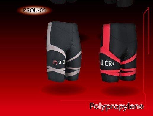 U.CR+ 外展機能5分褲 共兩色 緊身褲 運動褲 慢跑 瑜珈 足球 透氣、快乾 台灣製造 喜樂屋戶外團體服訂做