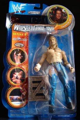 2000 美職摔角 WWF 系列  之  SMACK DOWN! 【 TRIPLE H - 保羅 李維斯克 】