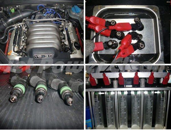 負壓脈衝超音波 清洗噴油嘴 A3 A4 A6 A8 S3 S4 S6  Audi quattro mtm s-line abt vag OETTINGER