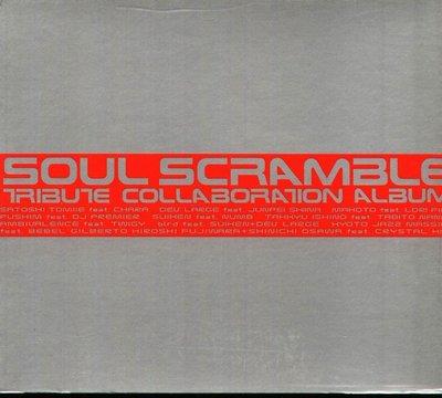K - SOUL SCRAMBLE TRIBUTE COLLABORATION ALBUM - 日版 CD CHARA