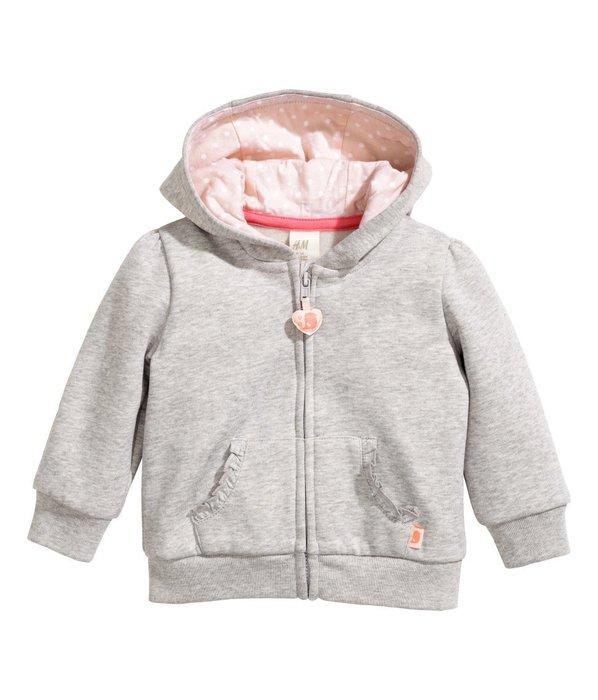 *小豆仔的屋Dou Dou House*歐洲瑞典H&M童裝/女孩長袖連帽外套(現貨+預購)