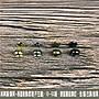 1入10組 純黃銅/ 銅質 4色【4*4mm 雙面 圓釦...